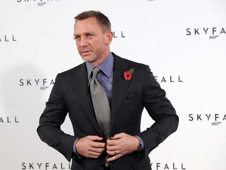 Daniel Craig Nex Craig Cravate