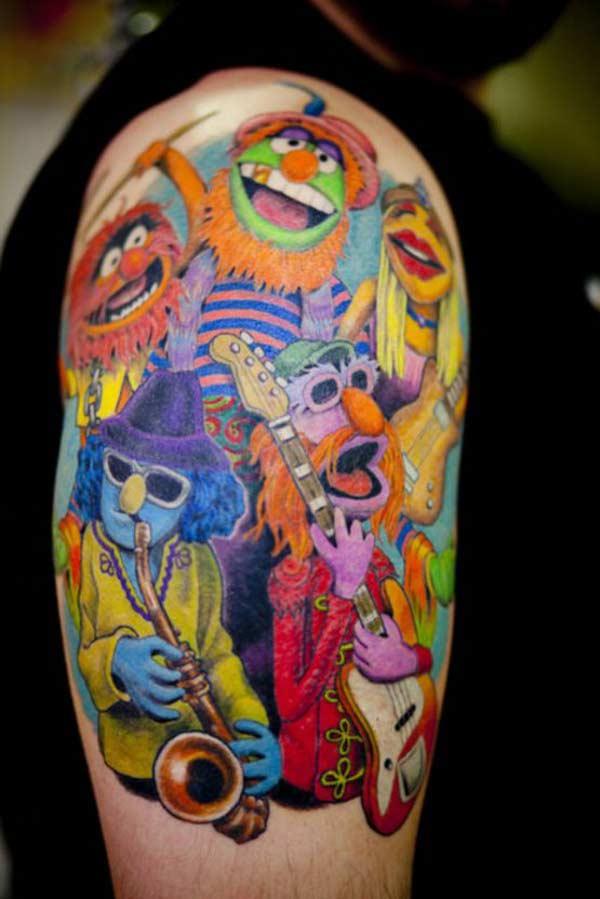 Tatouage - Muppet show