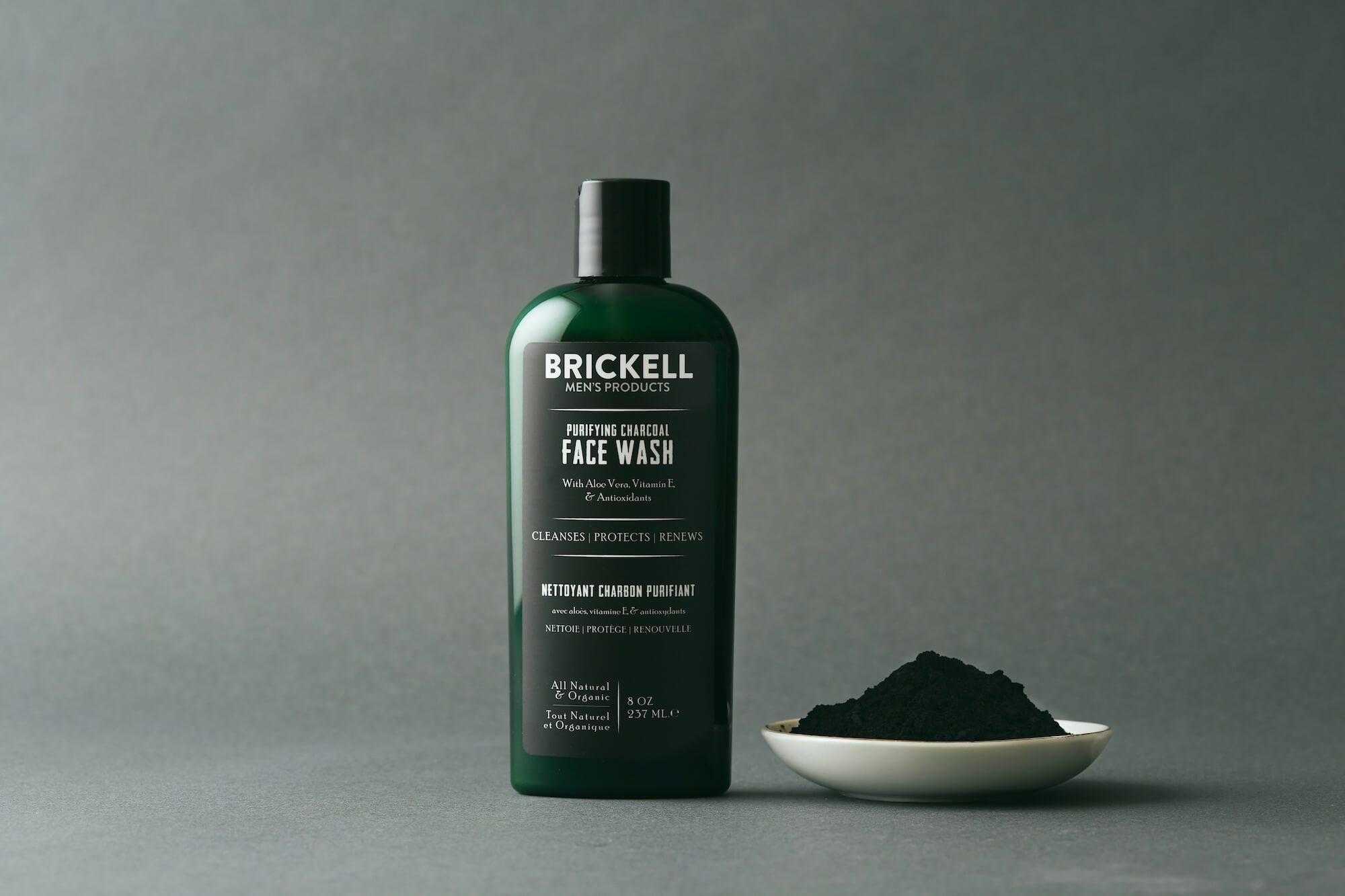 nettoyant pour le visage au charbon pour hommes