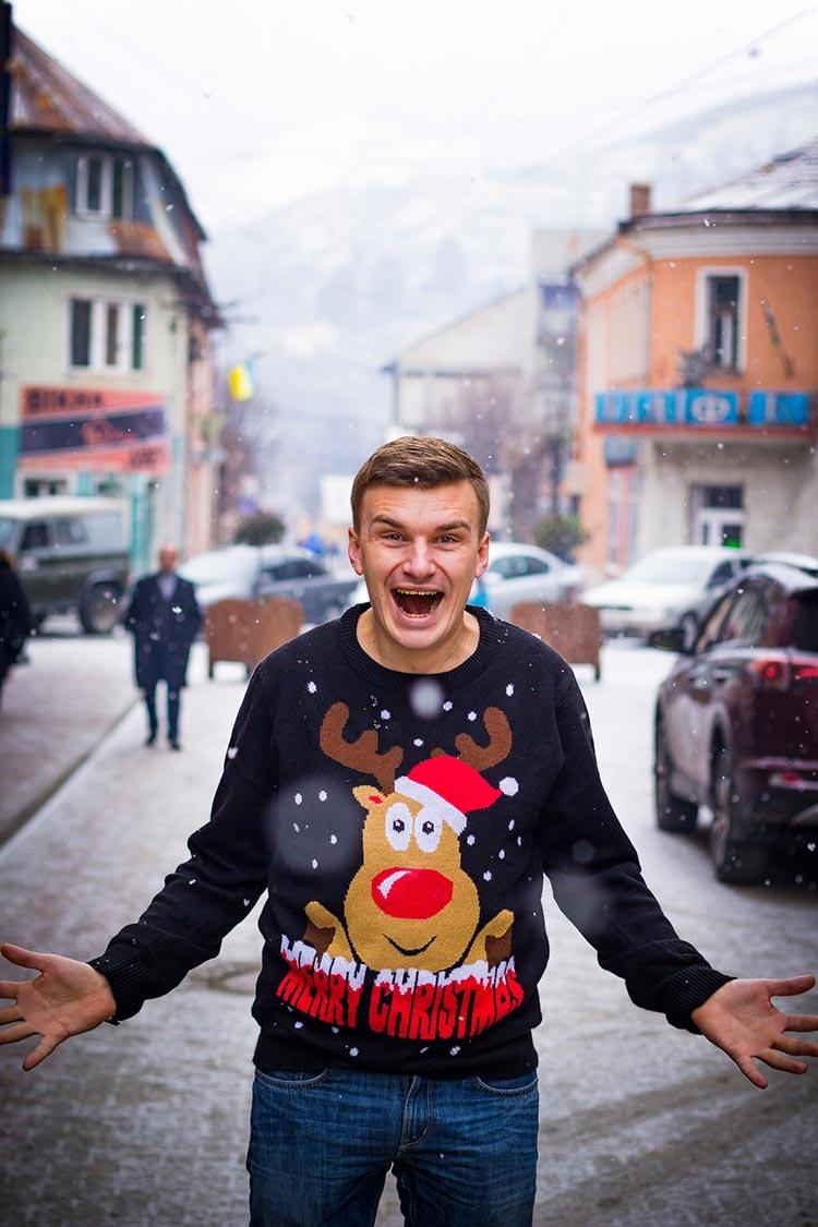 tricots pour Noël