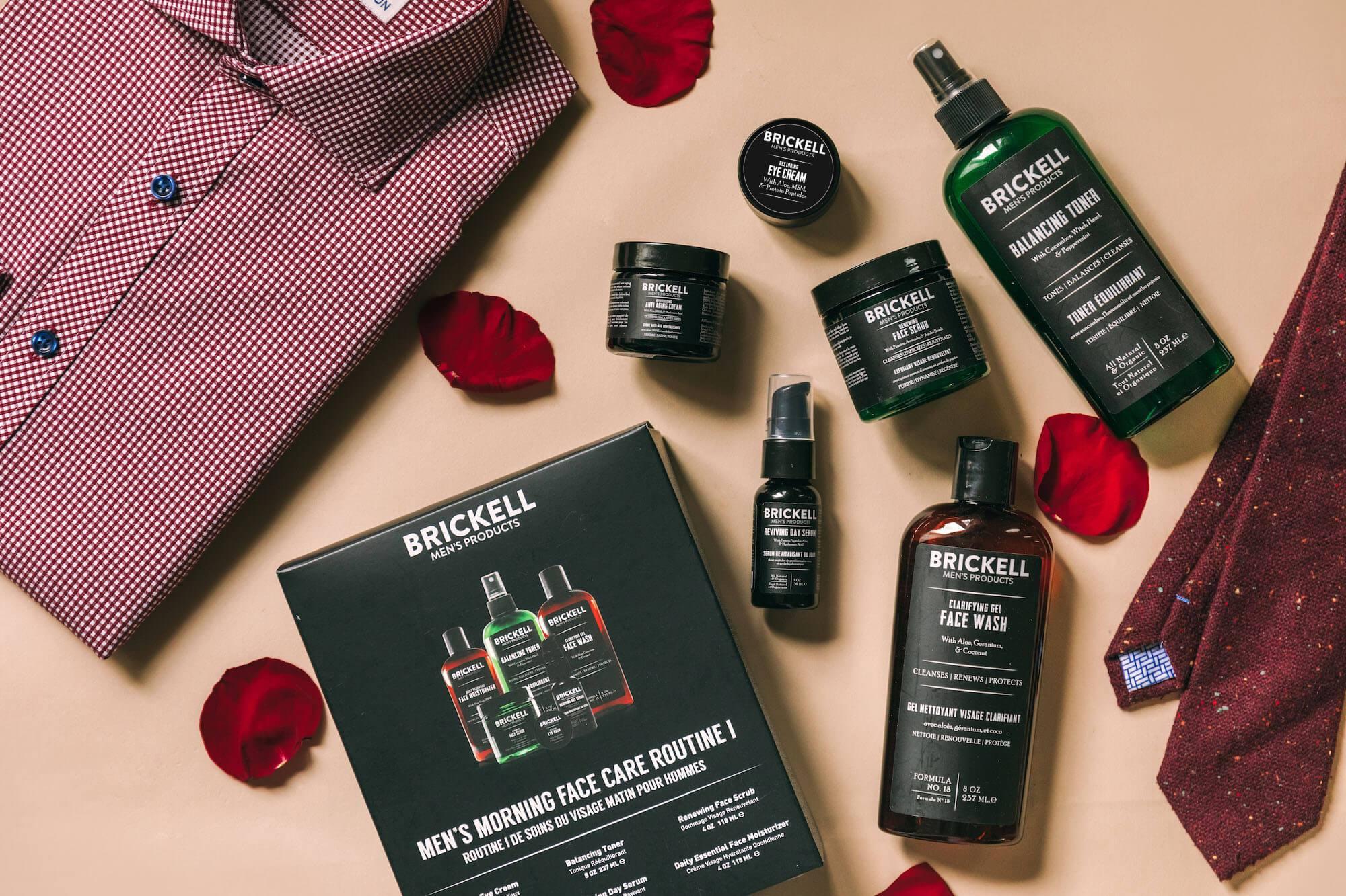 Routine de soins du visage de la Saint-Valentin pour hommes