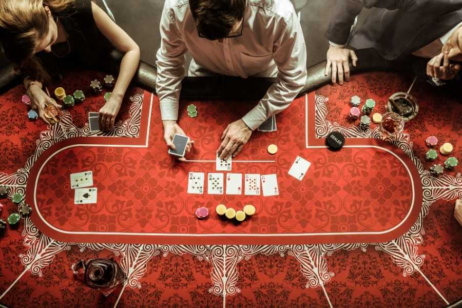 Casino mode rouge
