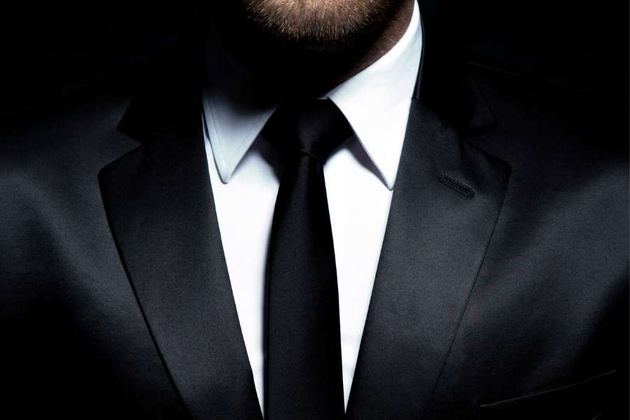 tenue de casino formelle hommes