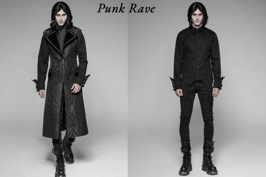 vêtements punk rave hommes