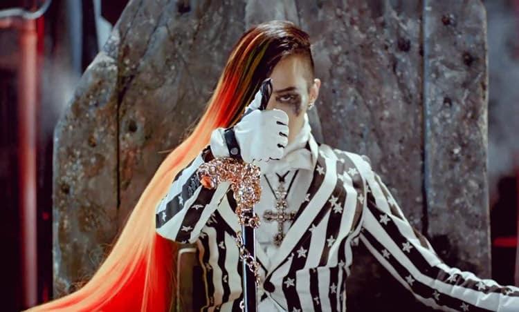 G Dragon - Chanteur Punk Rock
