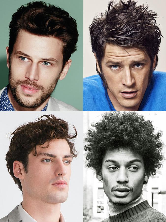 Coiffures / coupes de cheveux pour hommes pour les formes de visage triangulaires